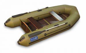 Лодка ПВХ ВУД 2 М серия F под мотор надувная двухместная